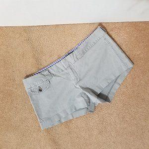 American Eagle shorts 10 Favorite chino gray
